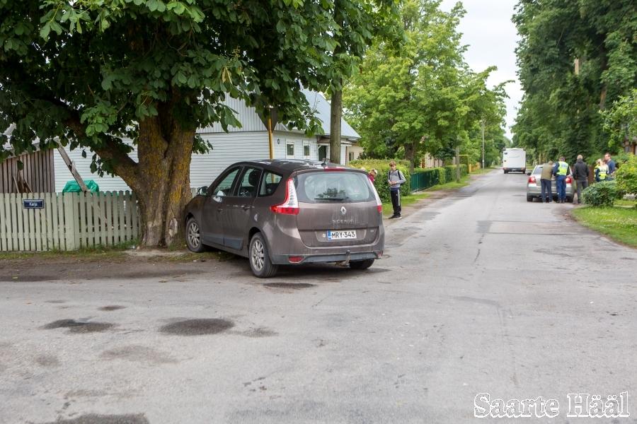 5b6470432d4 W3 uudised - FOTOD: Avarii Transvaali ja Karja tänava ristmikul