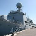 Täna hommikul lahkus Saaremaa sadamast siin kolm päeva veetnud Eesti Mereväe lipulaev Admiral Pitka. Laev osales 20. aprillist kuni 4. maini Balti Mereväeeskaadri ühisõppusel.