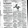 Ajaleht kirjutab aja lugu. Sestap on vahel hea võtta mõni vana leht ja vaadata, millised oli teemad siis, kui meid veel ei olnud. Mida kirjutasid ajalehed näiteks jaanuaris 1929?